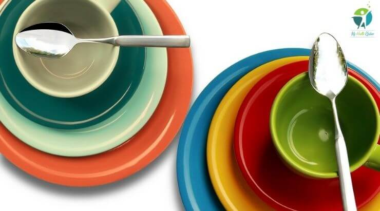 Colorful Plates for Weight Loss
